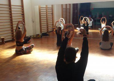 Seguimos con las clases de danza