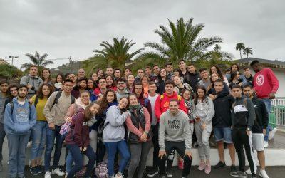 Alumnado de Psicología del  IES de Tafira