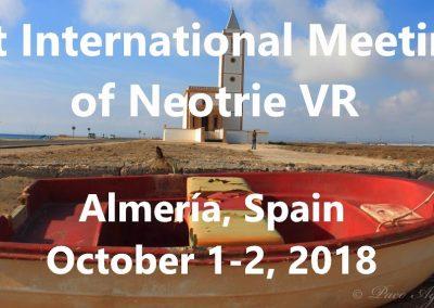 Primer Encuentro Internacional de Neotrie VR