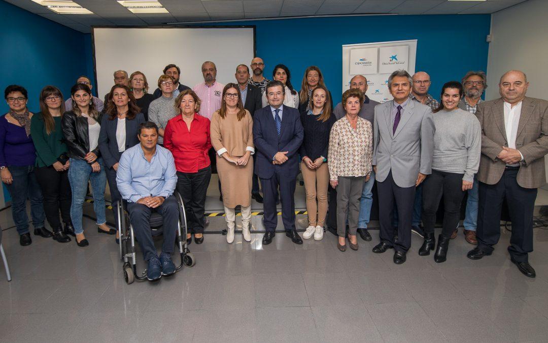 Firma convenio CIVITAS-Fundación La Caixa