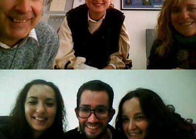 Reunión de coordinación con Virtual Dor y A Toda Vela