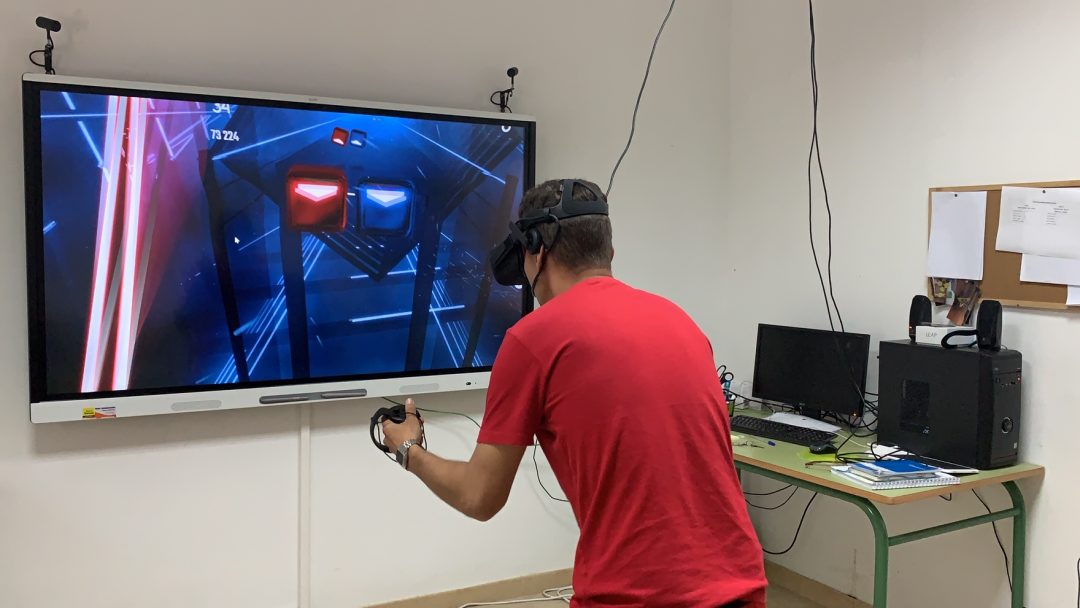 Psicomotricidad en Realidad Virtual