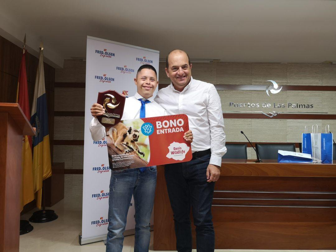 Primer premio del V concurso de redacción «mi visita al Puerto»