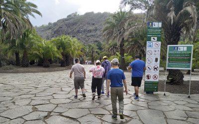 NTP visita El Jardín Canario