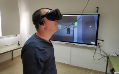 Fisioterapia con Realidad Virtual