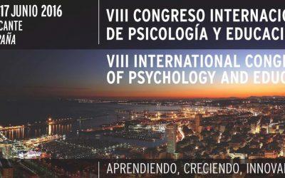 VIII Congreso Internacional de Psicología y Educación (CIPE 2016)