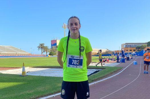 Selena Aguilar Cto. De España de atletismo