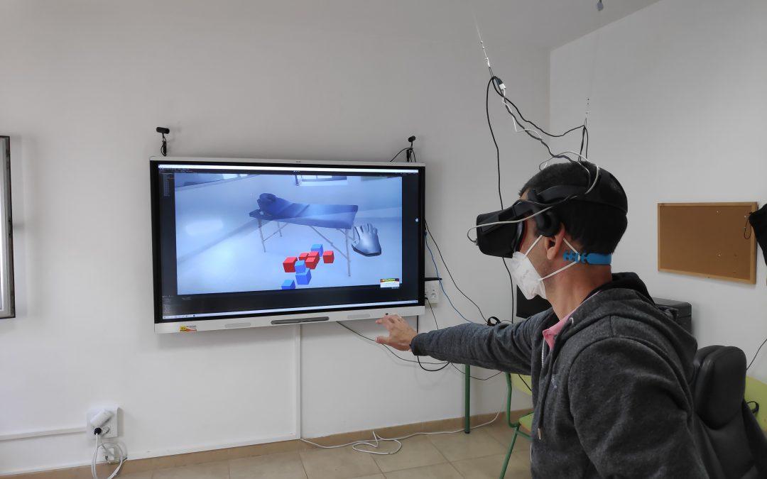 Fisioterapia con Realidad Virtual