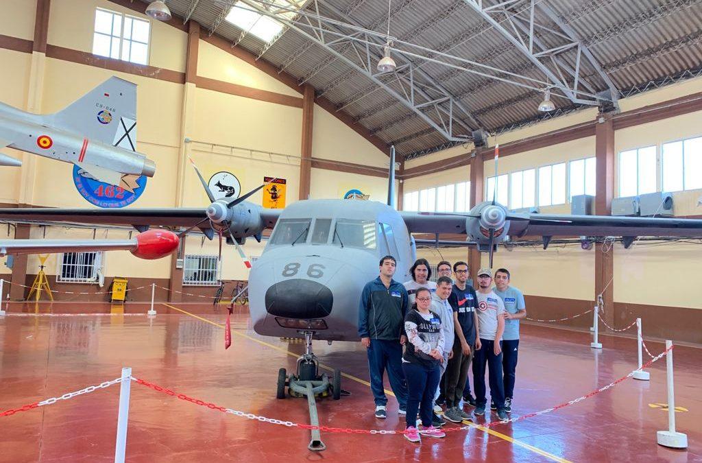 Reconocimiento y agradecimiento base Aérea de Gando